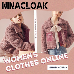 Ninacloak廉价女性's Clothes